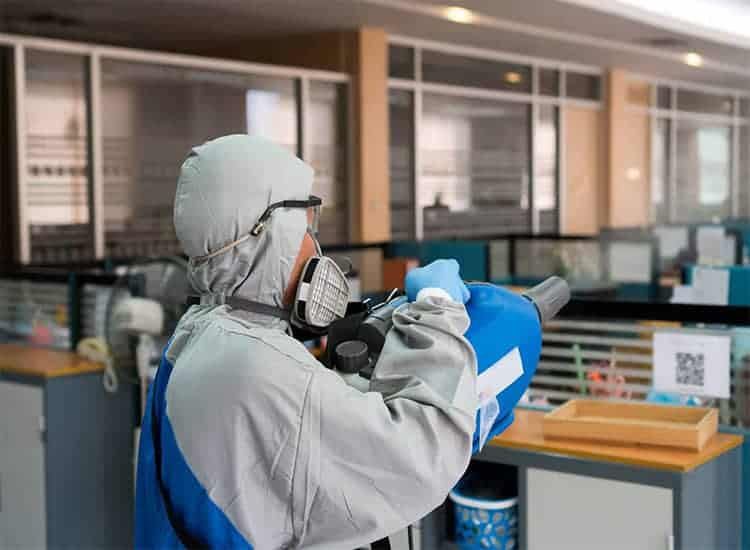 disinfecting and sanitizing services in London, Ontario